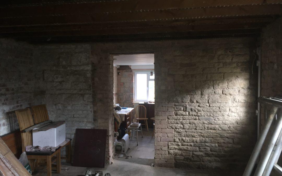 Stonework renovation